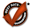 Best Rate Guaranteed*